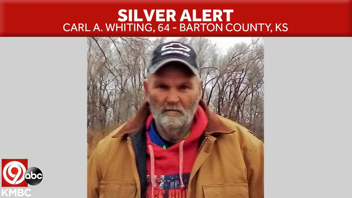 Statewide Silver Alert issued for central Kansas man with dementia