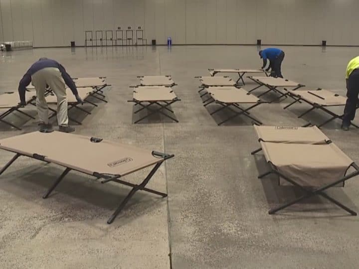What's next for people using Bartle Hall's emergency shelter? Some say the answer is difficult | FOX 4 Kansas City WDAF-…