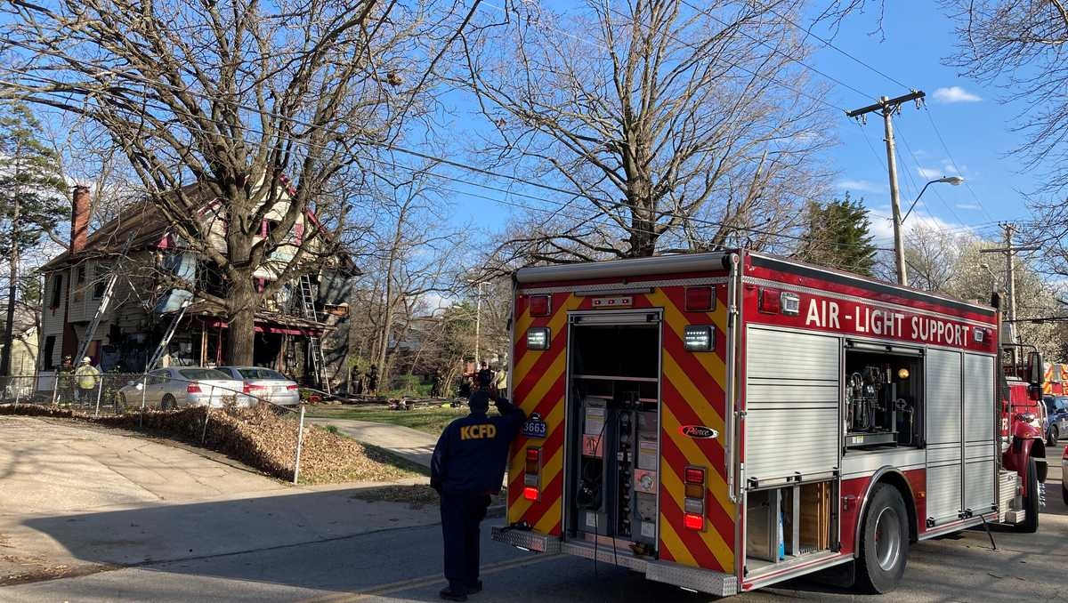 Woman dies, child hurt in KC house fire Wednesday afternoon
