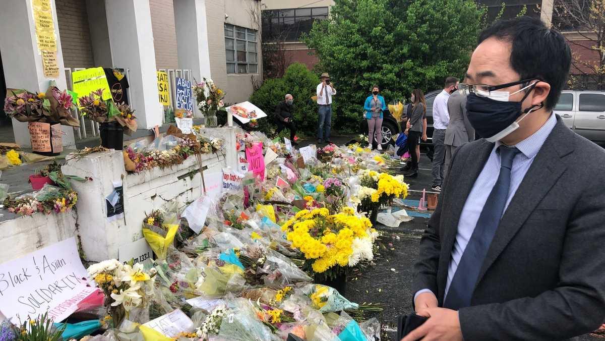 US lawmakers decry violence against Asians in Georgia visit