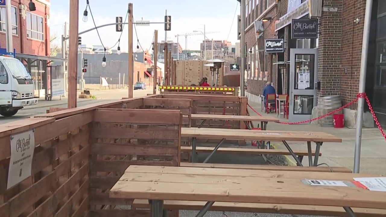 Kansas City could make outdoor dining in parking spaces a permanent option | FOX 4 Kansas City WDAF-TV