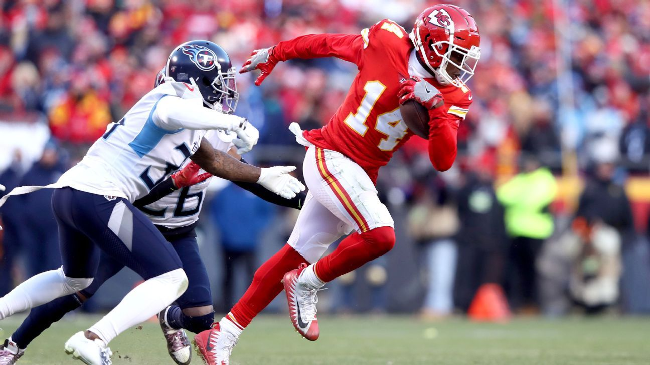 What the Kansas City Chiefs will do at receiver if Sammy Watkins walks – NFL Nation
