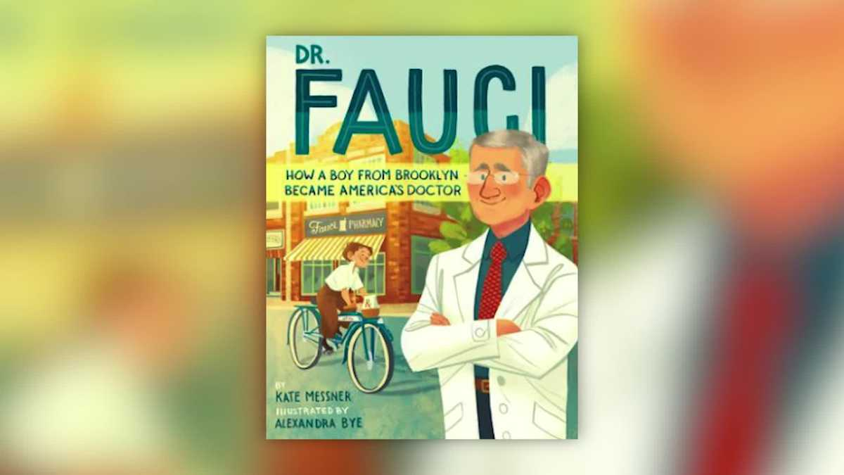 Children's book on Dr. Fauci set for June