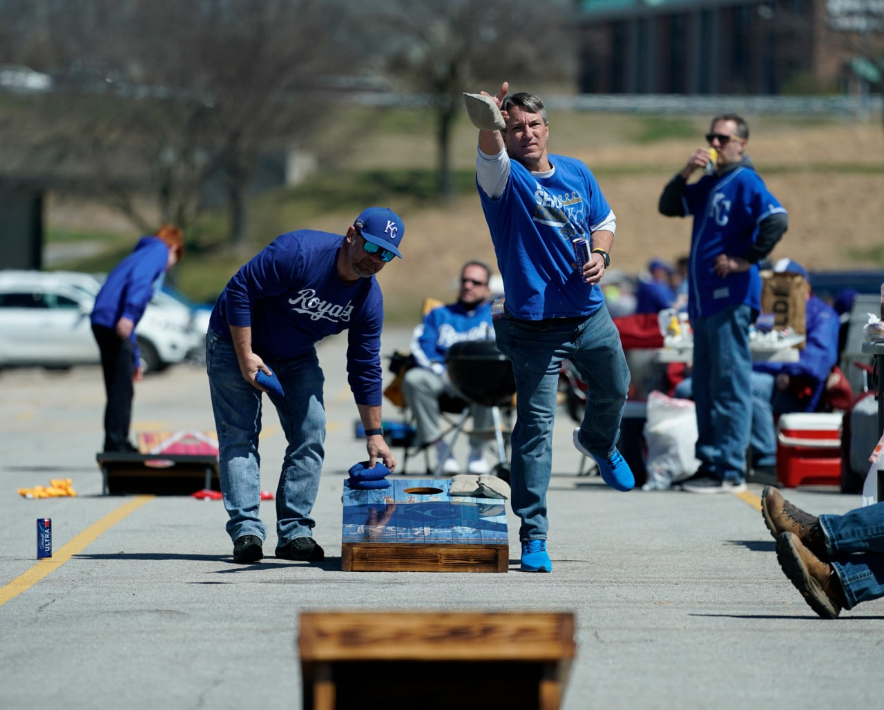 Kansas City Royals fans excited to be back at Kauffman Stadium