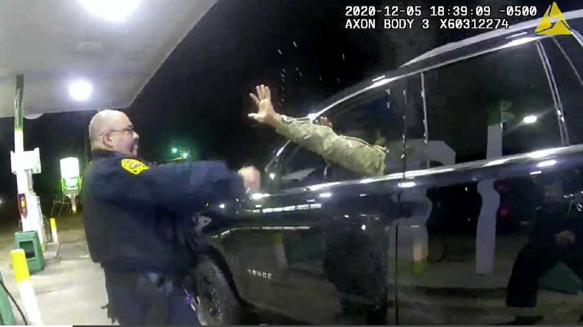 Officer accused of force in stop of Army officer fired