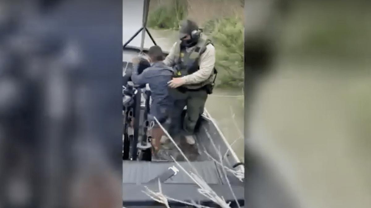 Video shows Border Patrol rescue of migrant children