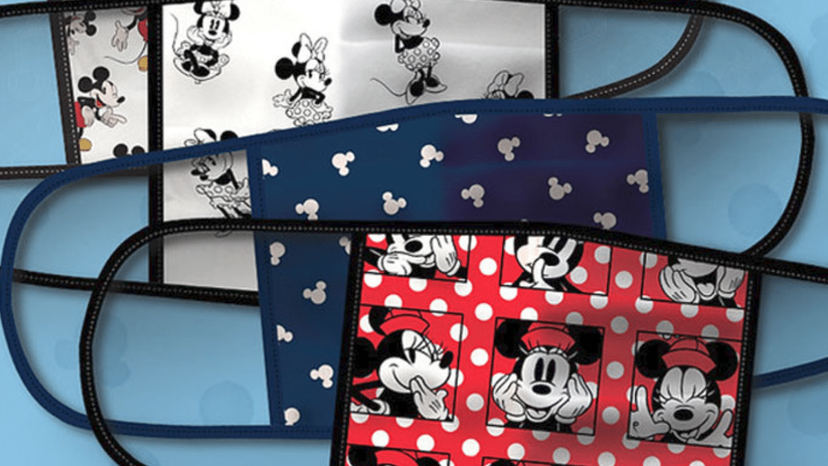 Disney face masks available for sale