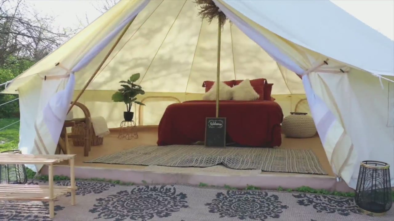 Local business bringing 'glamping' to the Kansas City area