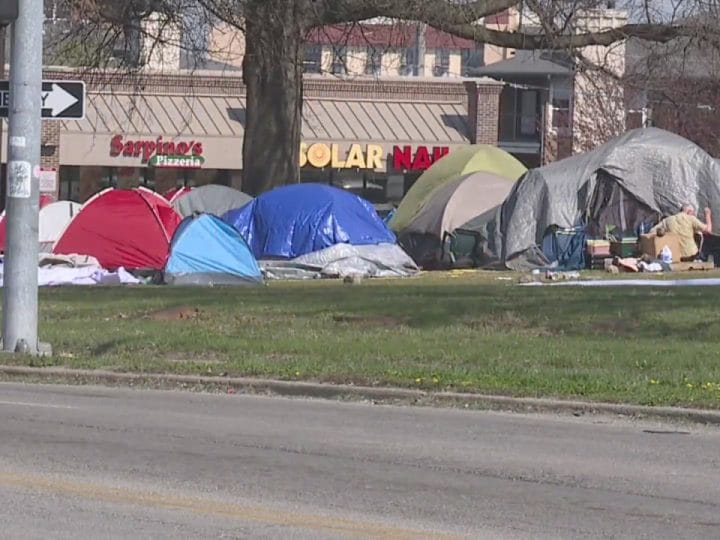 Homeless encampments in Kansas City becoming a dangerous situation