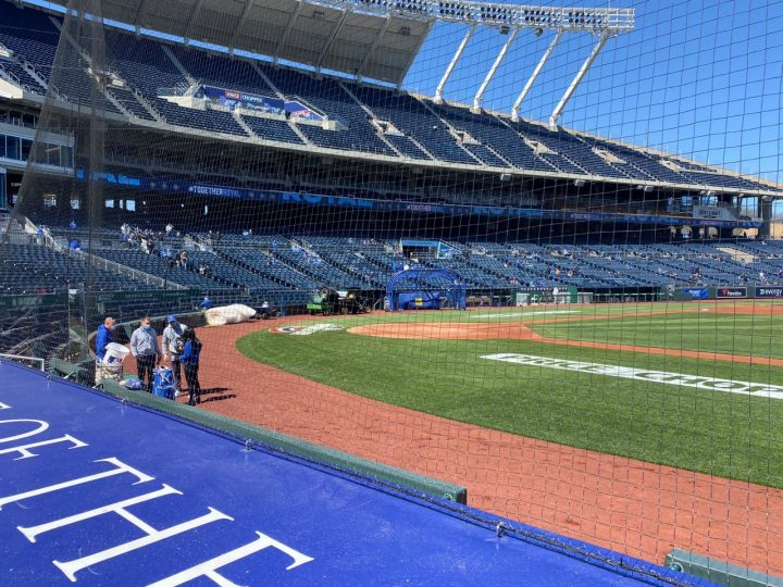 Kansas City Royals welcome fans to Kauffman Stadium, excited for Opening Day