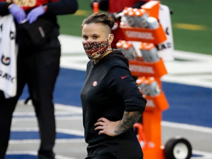 Coaching fellowship sends Katie Sowers to Kansas City Chiefs