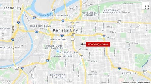 Shooting in Kansas City leaves one person dead and three others injured, police say