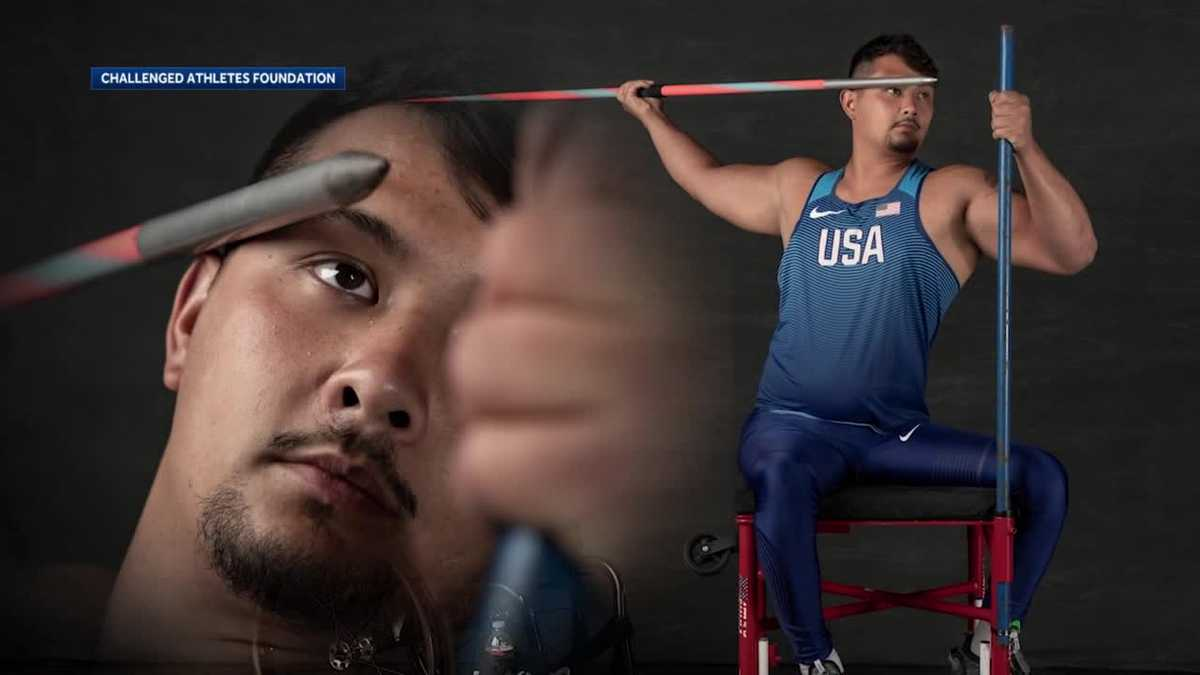 Man paralyzed in 2015 shooting heads to Paralympic Games