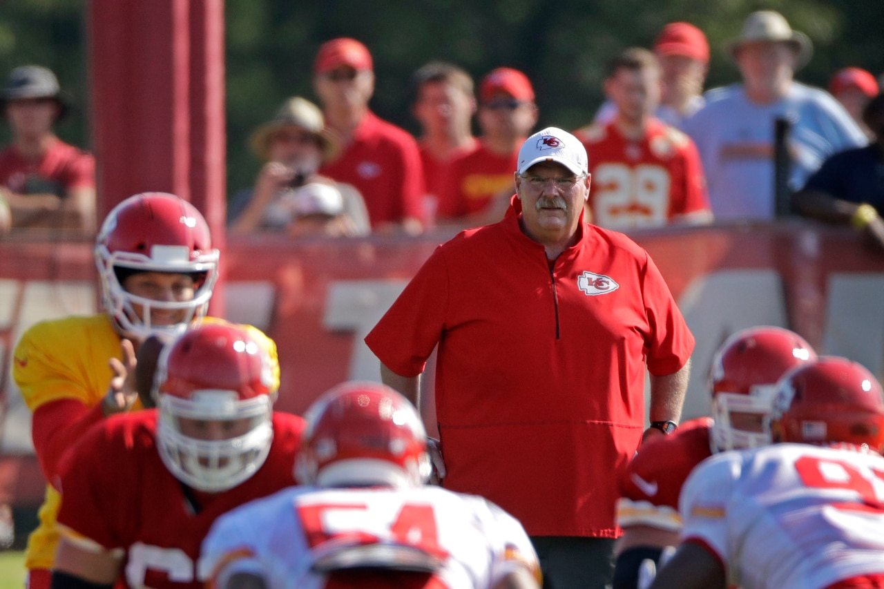 Chiefs announce dates for training camp in July