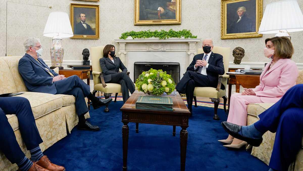 President Biden, Congress face the risk of a political grind to create legislation this summer
