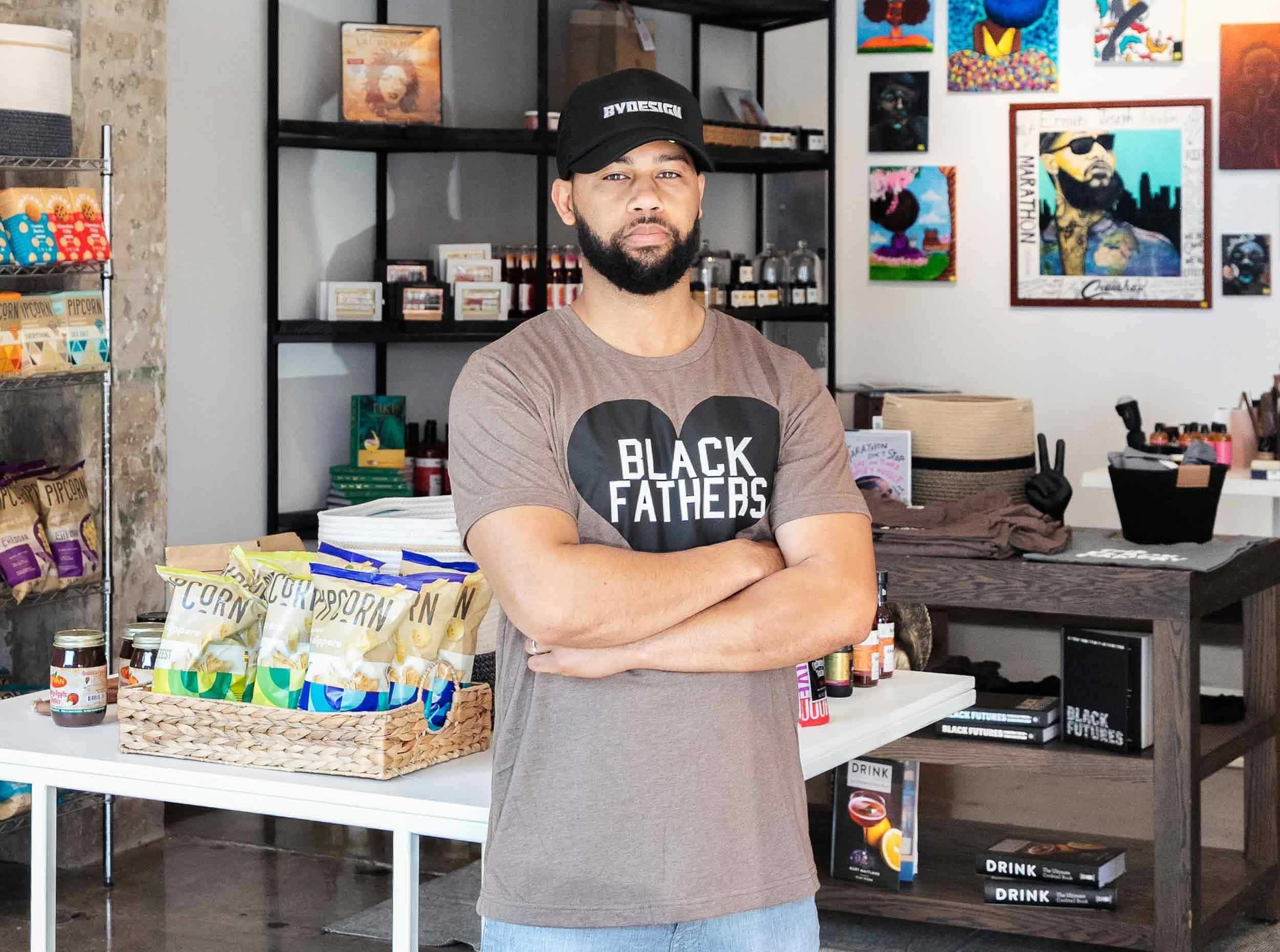 Brian Roberts builds community support for Black-owned businesses with his shop Black Pantry