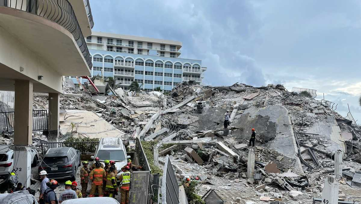 First building collapse victim identified