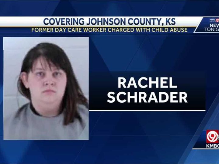 Former day care worker in Johnson County, Kansas accused of child abuse