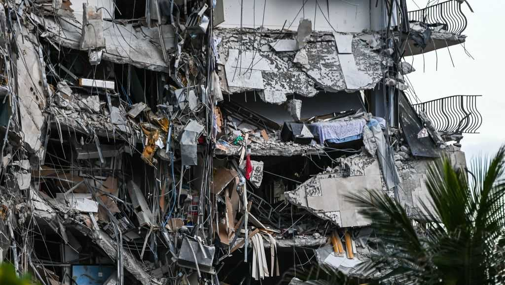 Nearly 100 remain unaccounted for after deadly building collapse near Miami
