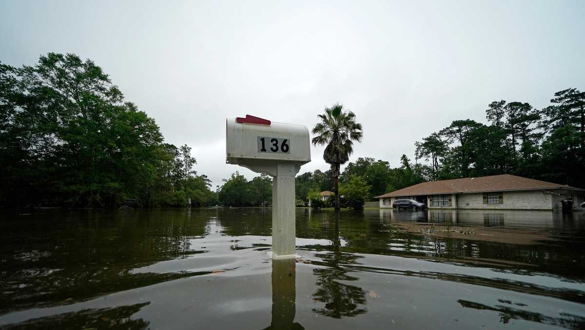 Claudette weakens to tropical depression after bringing rain, floods to Gulf Coast