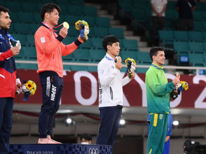IOC relaxes mask rules for medalists at Tokyo Olympics