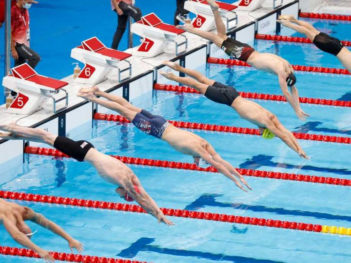 Keep an eye on swimming, men's gymnastics and surfing