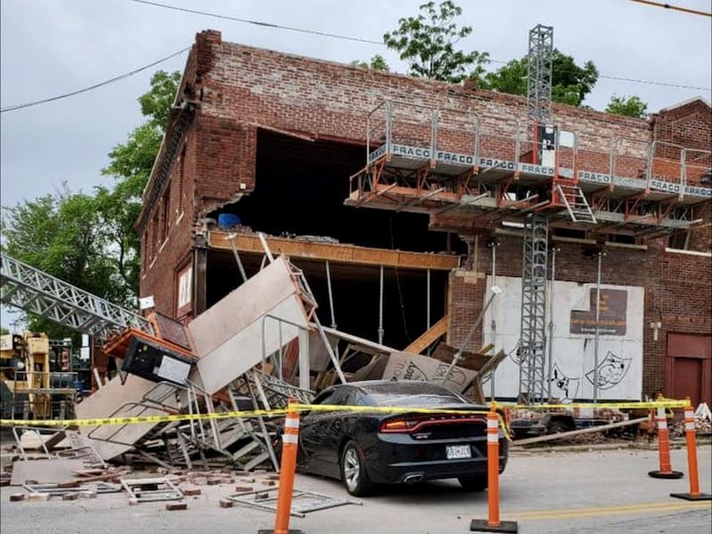 No Joke, Car Punches Laugh-O-Gram Building – CitySceneKC