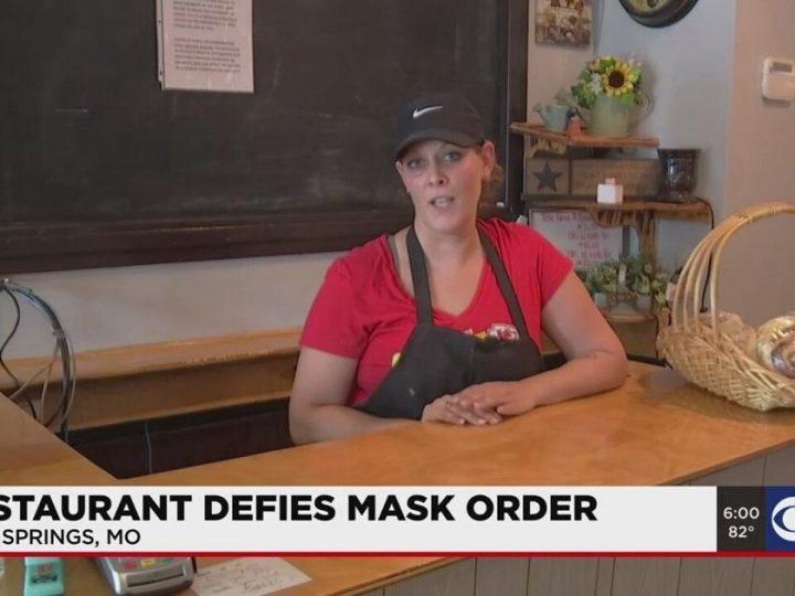 Health department shuts down Kansas City-area restaurant that defied mask mandate | Coronavirus COVID-19 News
